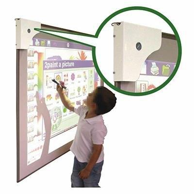 Pizarra blanca magnética acero vitrificado mate convencional/interactiva Faibo 1R11-4I