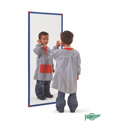 Espejo escolar de metracrilato de metilo 47x124cm 185