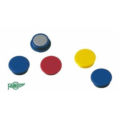 Imanes redondos de colores Faibo 30mm azul