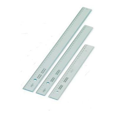 Regla de plástico irrompible Faibo 30cm