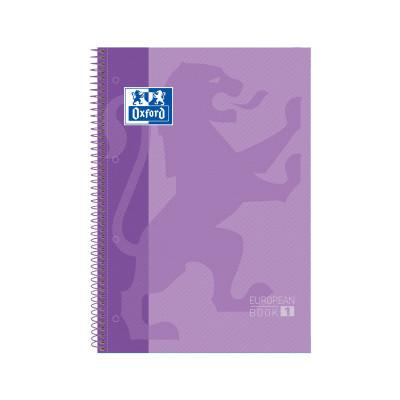 Cuaderno espiral microperforado A4 tapa extradura 80 hojas Oxford Classic 100430201