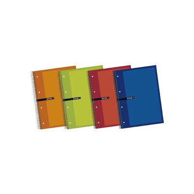 Cuaderno espiral microperforado tapa extradura Enri 100430087