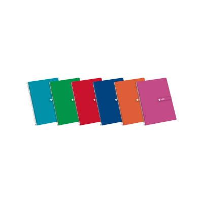 Cuaderno espiral tapa dura 80 hojas Enri 100430066