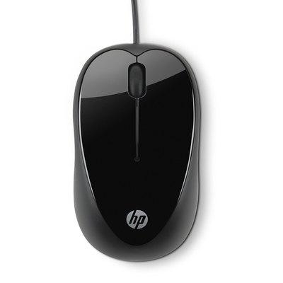 Ratón con cable Hp X1000 H2C21AA