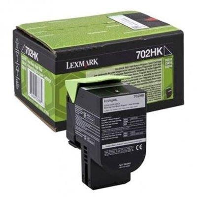 Tóner Lexmark 702HK negro 4.000 páginas  70C2HK0