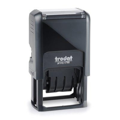 Fechador automático con placa Trodat 4750