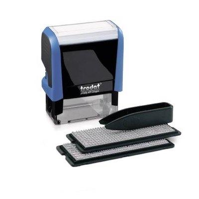 Sello automático con placa Trodat Typomatic 4913 4913 TYPO
