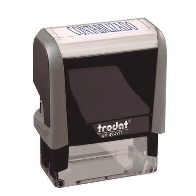 Formulario comercial automático Trodat 4911P4F 4911 P4 F5