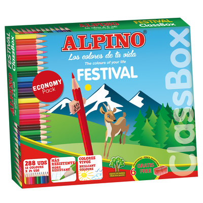 Lápices de colores Alpino Festival CO131992