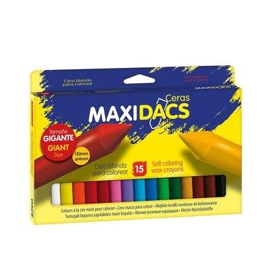 Lápices de cera de colores Alpino Maxidacs DX050216