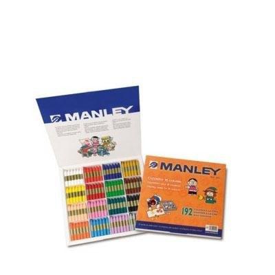 Lápices de cera de colores Manley MNC00192