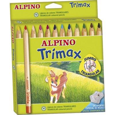 Lápices de colores Alpino Trimax