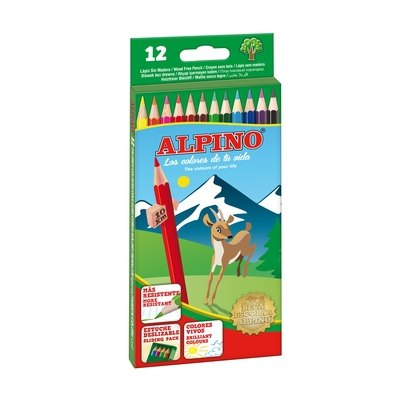 Lápices de colores Alpino caja de 24