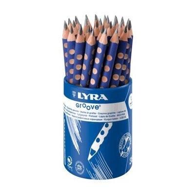 Lápices grafito Lyra Groove slim (7mm)