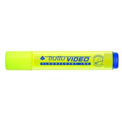 Rotulador fluorescente Tratto Video rosa