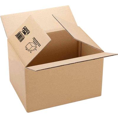 Caja de embalaje canal sencillo Fixopack