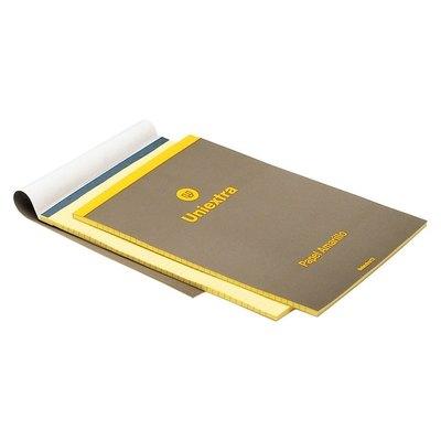 Bloc de notas perforado amarillo Uniextra 83651