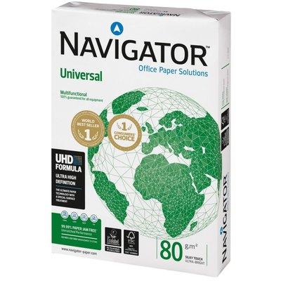 Papel fotocopiadora multifunción A4 80g premium Navigator NAVIG80