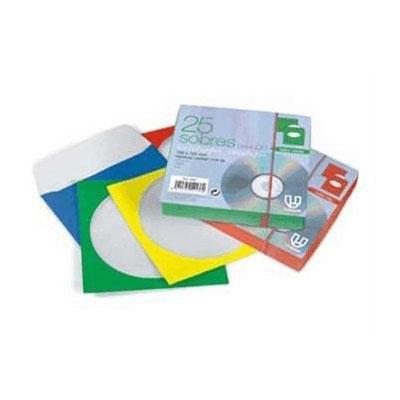 Sobres para CD colores 12055