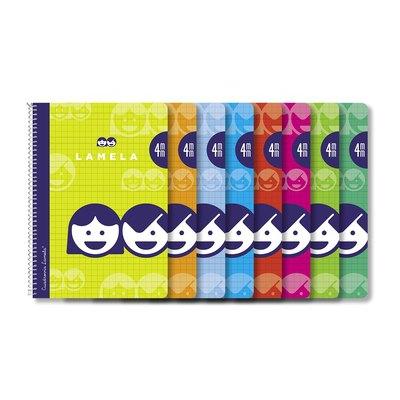 Cuaderno espiral cubierta básica Lamela 07F003