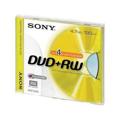 DVD+RW regrabable 4,7 Gb Sony 10DPW47SP