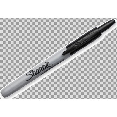 Rotulador permanente retráctil punta cónica Sharpie S081085