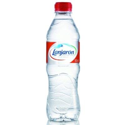 Agua mineral Lanjarón botella 500ml