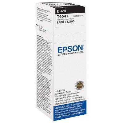 Inkjet Epson T6641 hasta 6.500 páginas Negro (70 ml) C13T664140