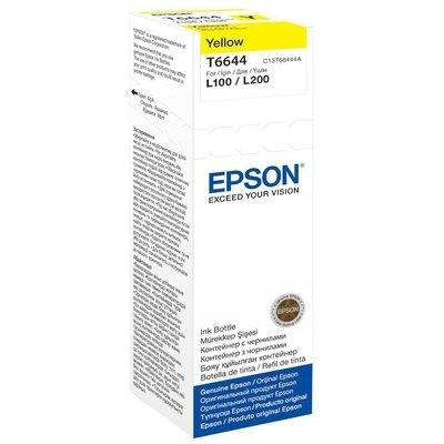 Inkjet Epson T6644 Hasta 6.400 páginas Amarillo (70 ml) C13T664440