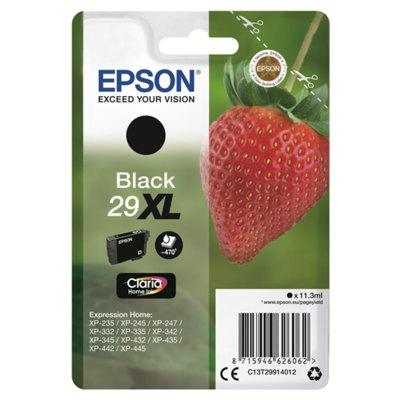 Cartucho Inkjet Epson 29XL Negro 470 páginas C13T299140