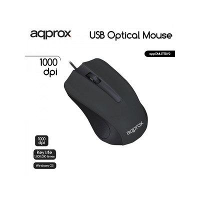Ratón óptico con cable PS2 Approx  APPOMLITEB