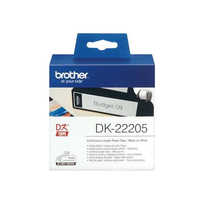 Cintas continua para impresoras de etiquetas Brother QL DK44205