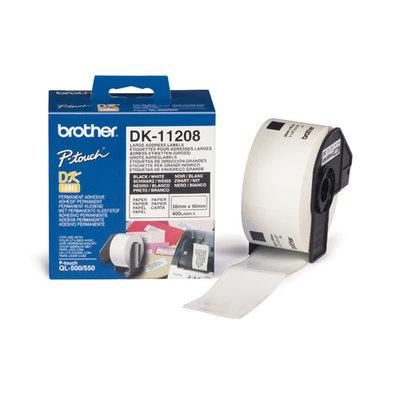 Etiqueta papel térmica dirección Gr. 38x90 DK-11241