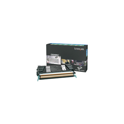 Tóner Lexmark C5240KH negro 8.000 páginas  C5240KH