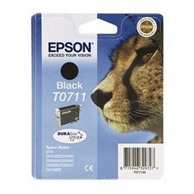 Cartucho inkjet Epson T0711 Negro  C13T07114010