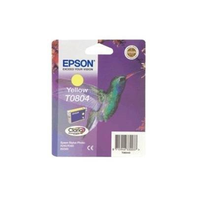 Cartucho inkjet Epson T0804 Amarillo  C13T080440