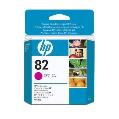 Cartucho inkjet HP 82 Magenta 28 ml  28 ml