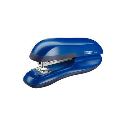 Grapadora de sobremesa 30 hojas Rapid F16 azul