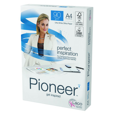 Papel fotocopiadora multifunción premium 90g Pioneer PERFECT