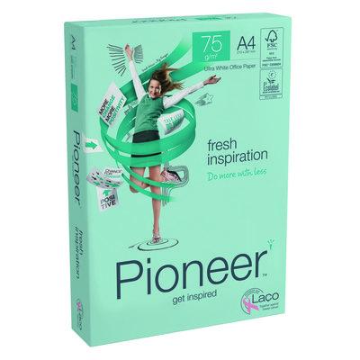 Papel fotocopiadora multifunción premium 75g Pioneer Fresh Inspiration FRESH