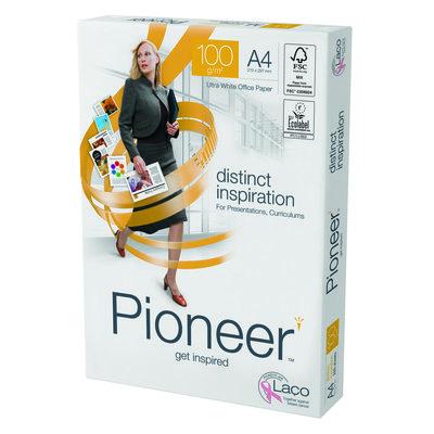 Papel fotocopiadora multifunción premium 100g Pioneer A4 297x210mm