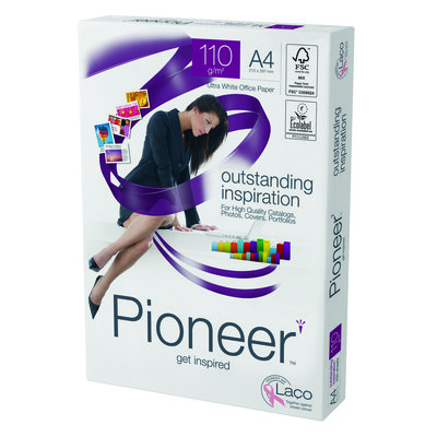 Papel fotocopiadora multifunción premium 110g Pioneer OUTSTANDING