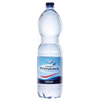 Agua mineral Fuente Primavera botella 2 litros
