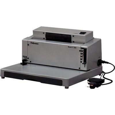 Encuadernadora eléctrica de espiral metálica Fellowes Metal 200R