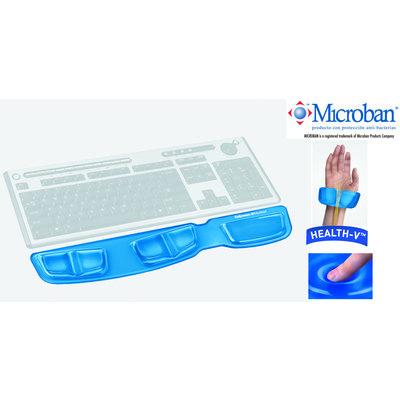 Reposamuñecas teclado gel con canal ergonómico Fellowes 9183101