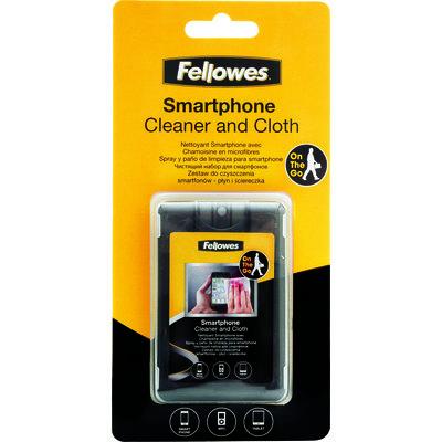 kit limpiador para smartphone Fellowes