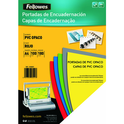 Portadas de encuadernar PVC opaco Fellowes 5100301