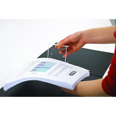 Encuadernador fástener de plástico Fellowes Bankers Box Clip 0089602