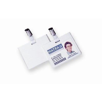 Identificador portanombres con pinza Fellowes 53043