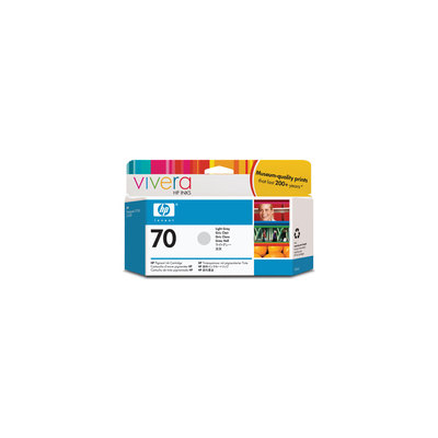 Cartucho inkjet HP 70 Gris claro 130 ml C9451A